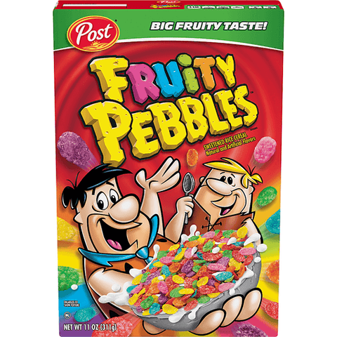 Post Fruity Pebbles Cereal 11 OZ