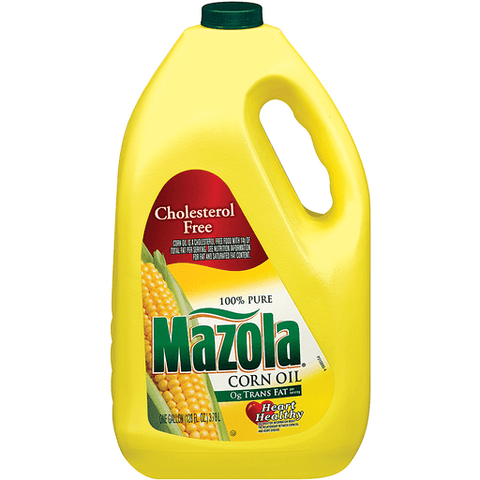 Mazola Corn Oil, 100% Pure 128 OZ