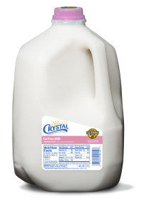 CRYSTAL FAT FREE MILK, 1GL