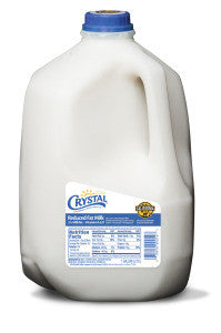 CRYSTAL CREAMERY 2% REDUCED FAT MILK, 1GL