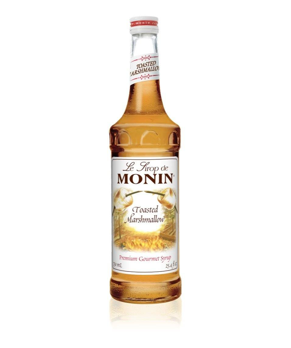 Monin Premium Toasted Marshmallow Syrup 750ml/25.4 FL OZ - Beverage Solutions