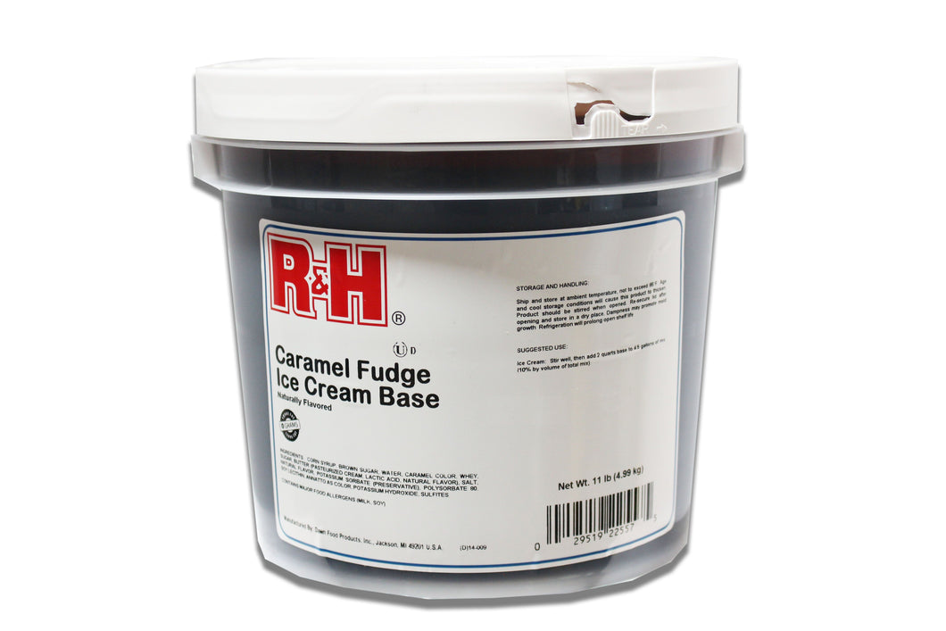 R&H Caramel Topping 1 Gallon Pail - Beverage Solutions
