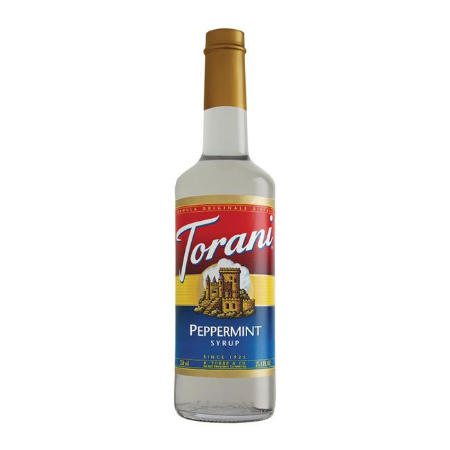 Torani Peppermint Syrup 750ml/25.4 FL OZ - Beverage Solutions
