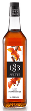 1883 Pumpkin Spice Syrup 1 Liter/33.8 FL OZ Bottle - Beverage Solutions