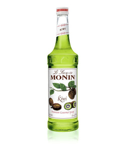 Monin Premium Kiwi Syrup 750ml/25.4 FL OZ - Beverage Solutions