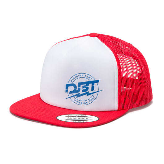 DBT Trucker Hat - Red/White