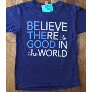 Be the Good in the World baby and kids tshirt-Hens and Chicas