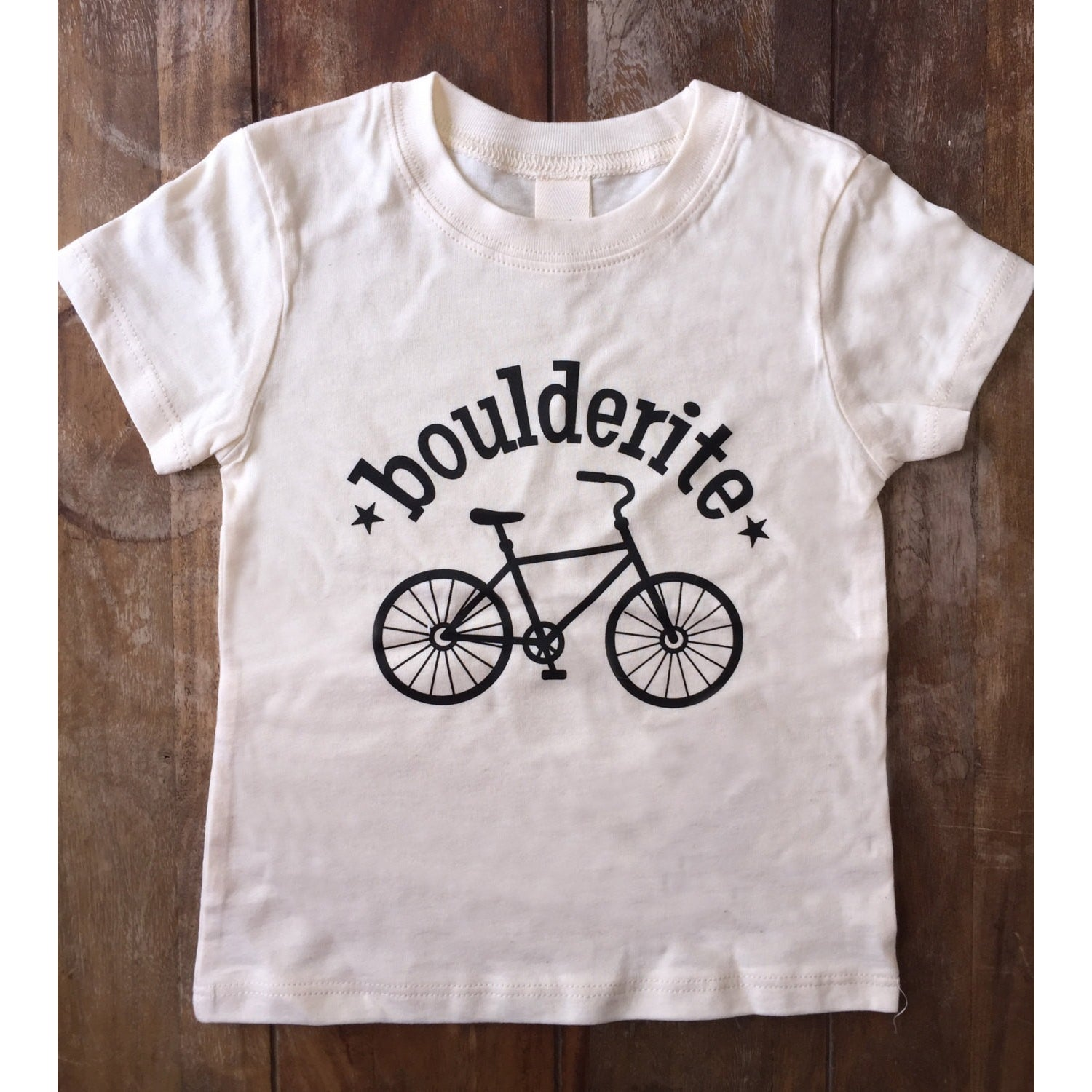 Boulderite Organic cotton Boulder Colorado Tshirt-Hens and Chicas