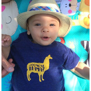 Como Se Llama T-shirt for kids-Hens and Chicas
