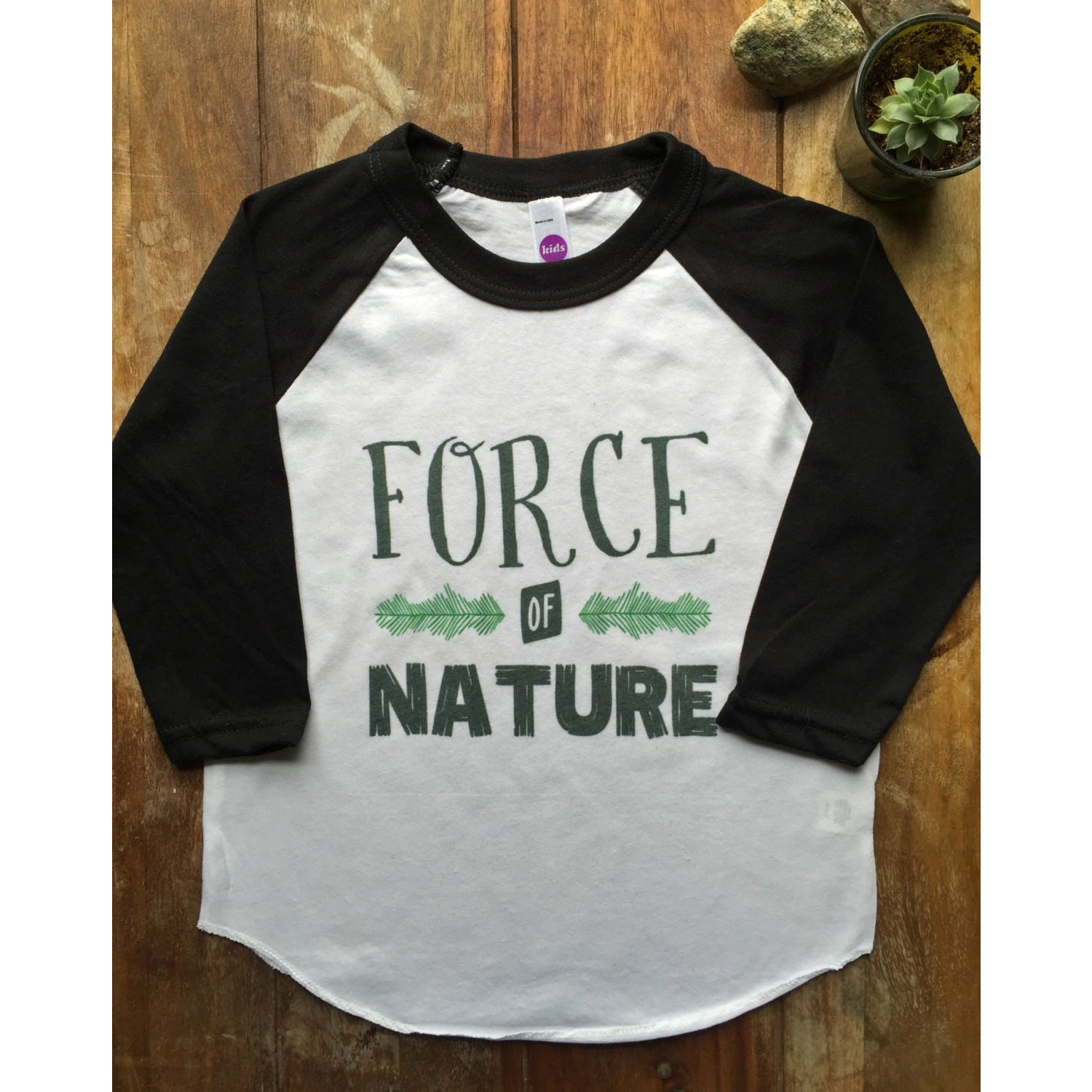 Force of Nature T-Shirt for kids-Hens and Chicas