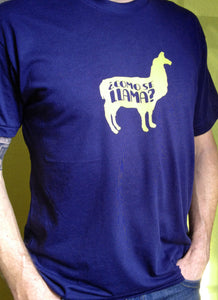 Funny Como Se Llama men's T-shirt-Hens and Chicas
