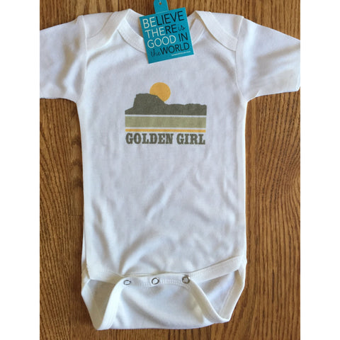 Golden Girl onesie for babies-Hens and Chicas