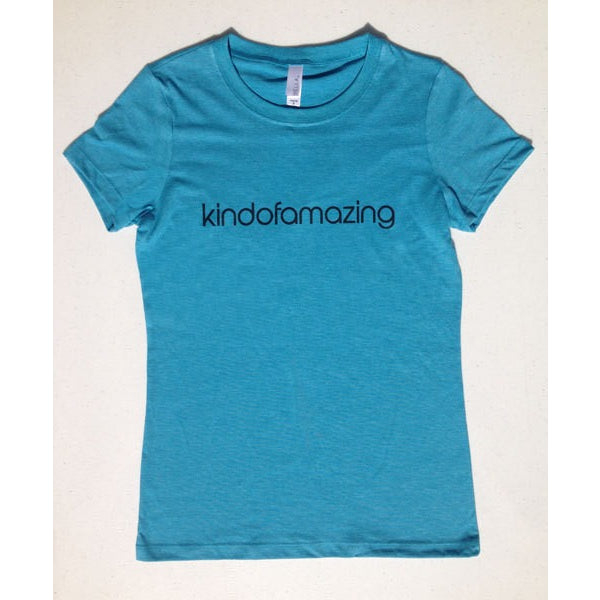 Kindofamazing Womens Tshirt-Hens and Chicas