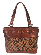 Jessica Tote Bag System - Jessica Tote plus a FREE Blue Suede Croc/Leopard Hair-On  Cover