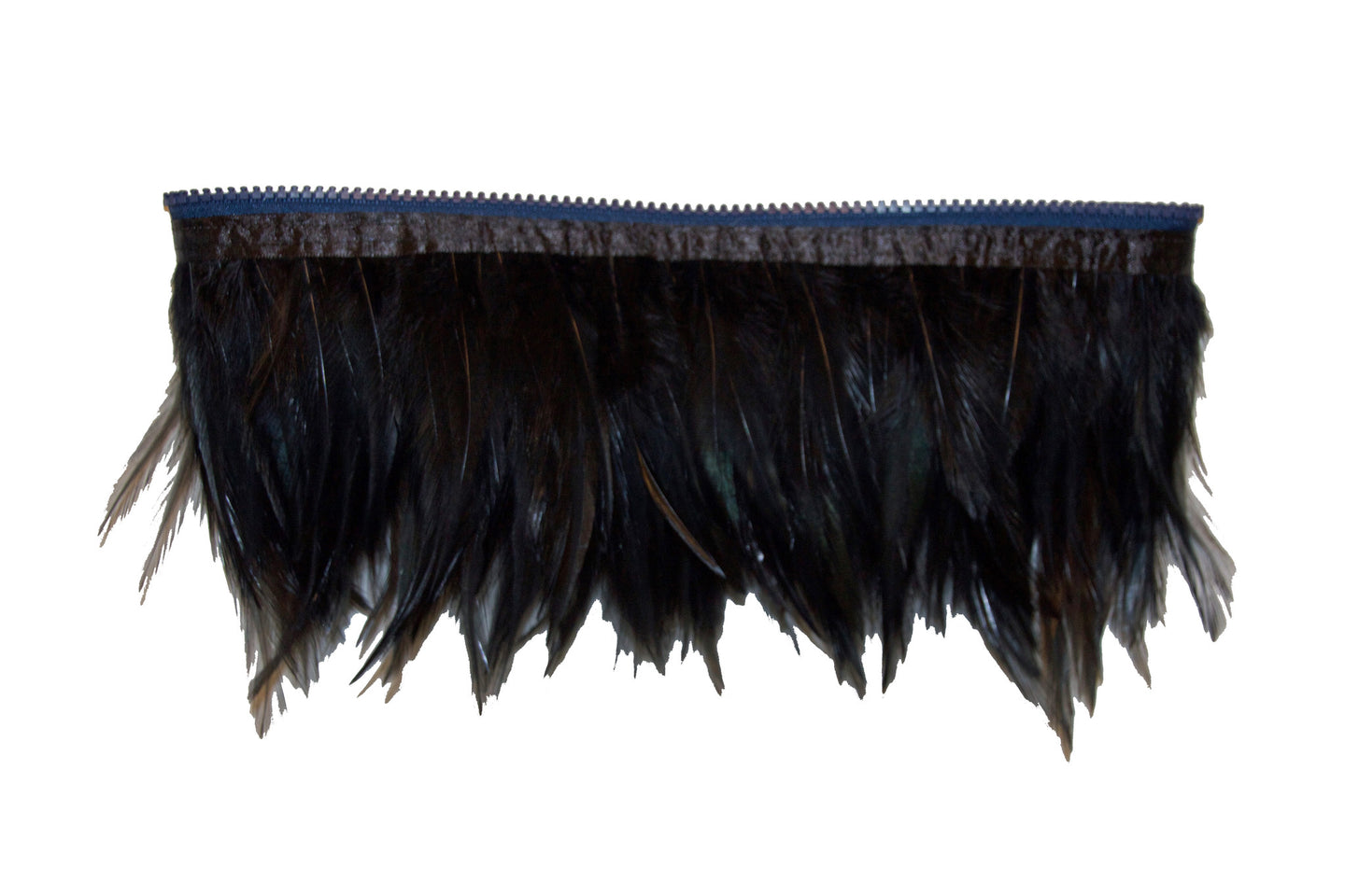 Attachable Black Feather Trim for Christina Cross Body Bag