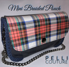 Mini Braided Crossbody/ Clutch Pouch