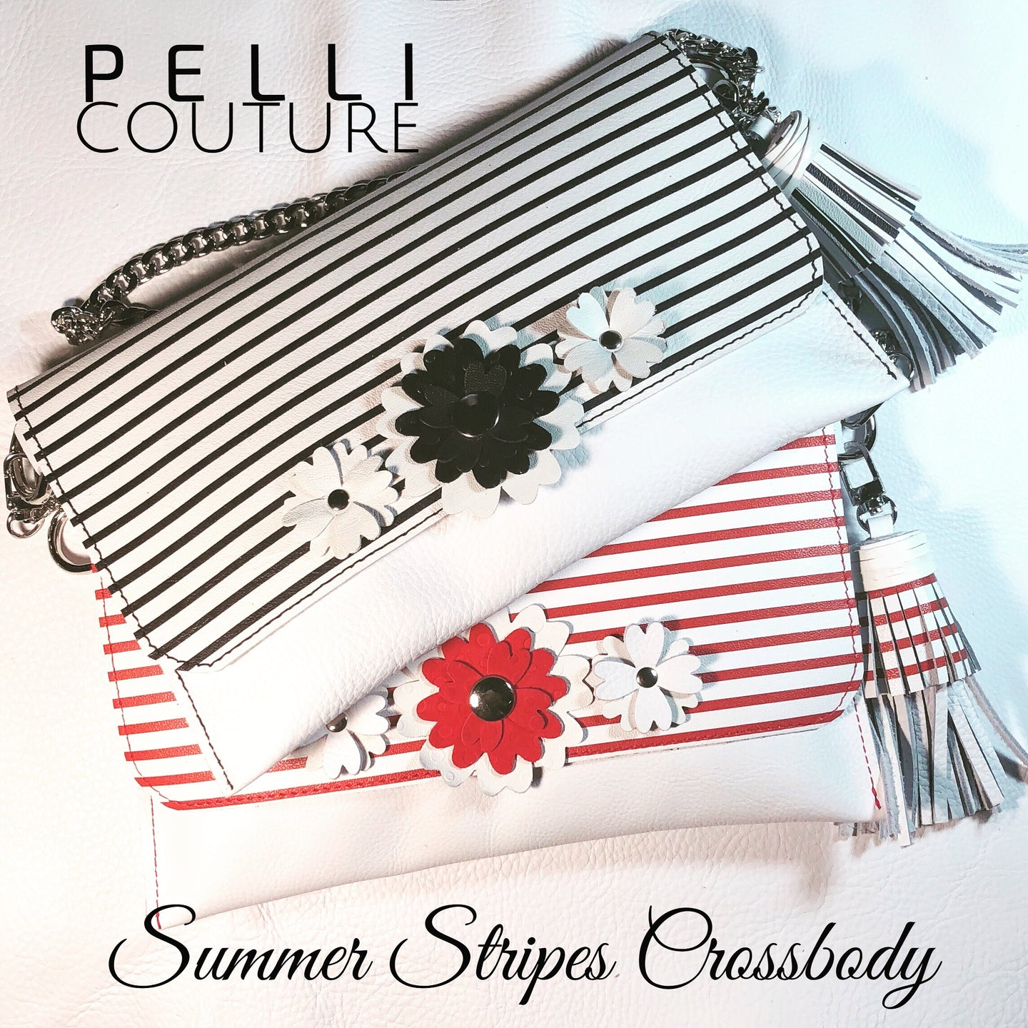 Summer Stripes Convertible Crossbody