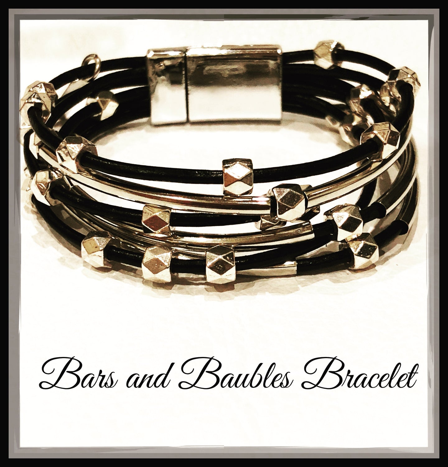 Bars and Baubles Bracelet