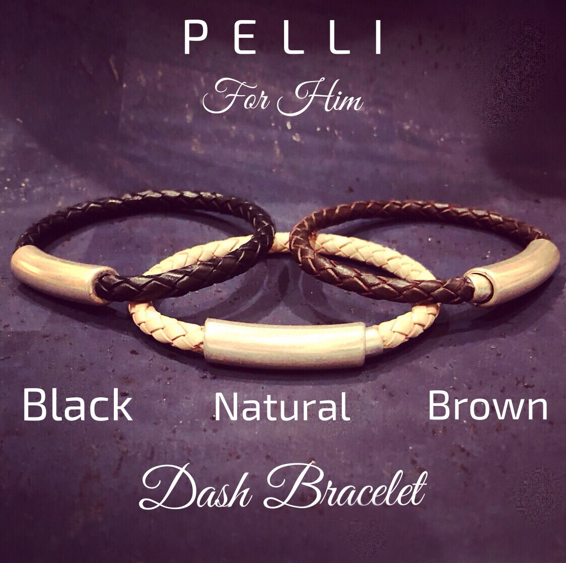 Dash Leather Bracelet
