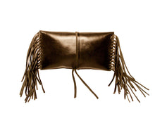 Lauren Convertible Double Strap Wrap Clutch- Cut Edge