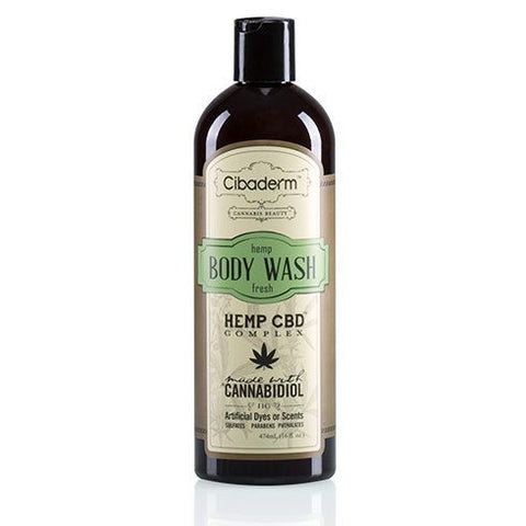Cibaderm Hemp Body Wash