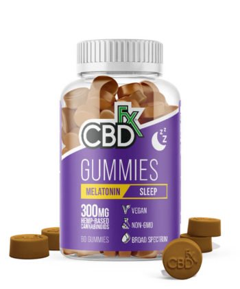 CBDfx Gummies 300mg + Melatonin