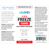 cbdMD Freeze Roll On 1500mg