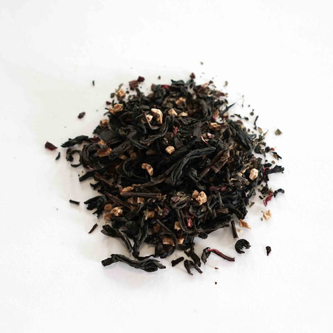 Black and Blue Flavored Black Tea