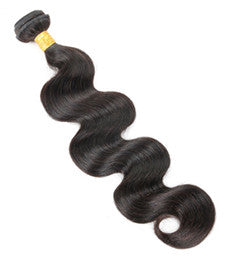 Brazilian Virgin Hair- Body Wave -(Loose Bundle)