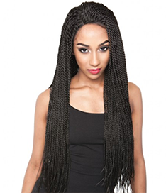Brandy Twists Lace Wig
