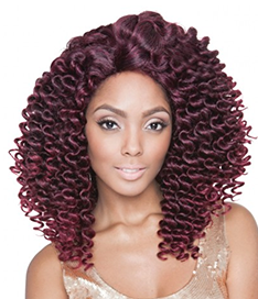 Afro bounce Lace Wig 18