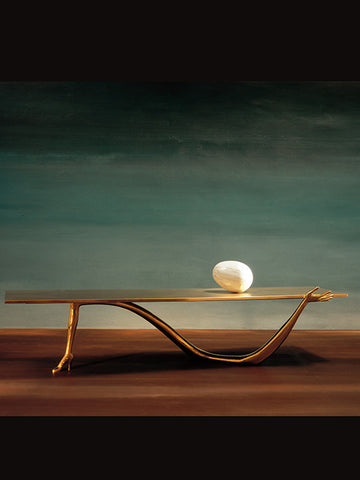 Dali's Sculpture Leda Low Table