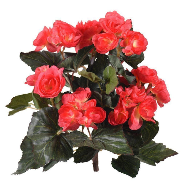 Begonia Bloomr Home Artificial Flowers and Trees