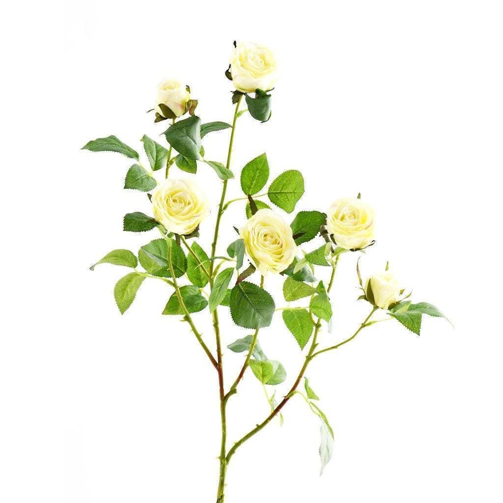 Cabbage Rose Bloomr Home Artificial Flowers and Trees