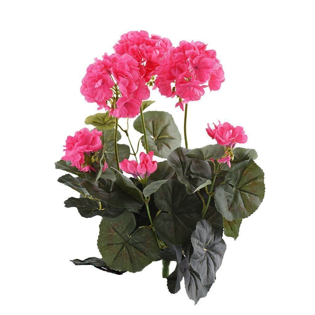 Geranium Bloomr Home Artificial Flowers and Trees