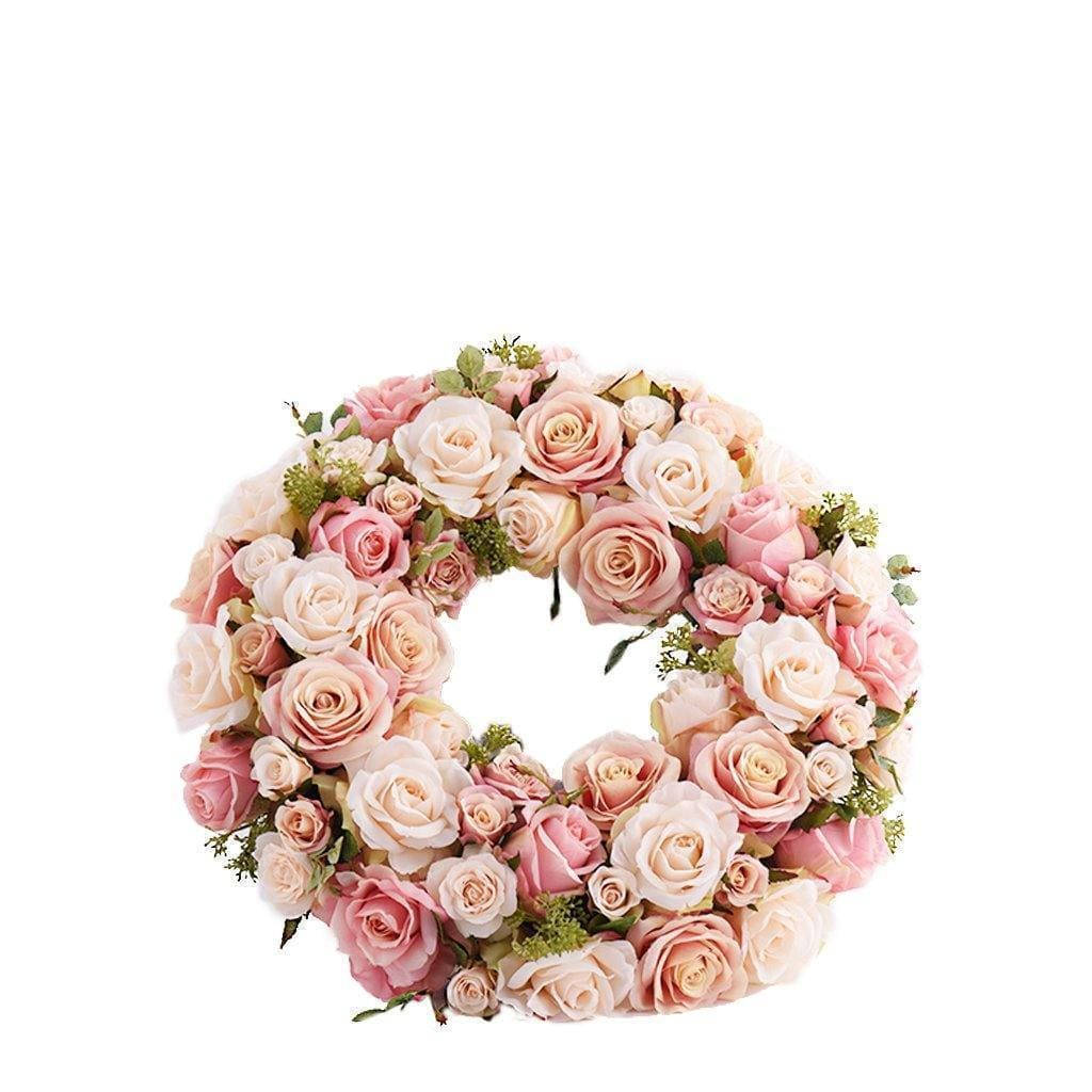 Rose Wreath Bloomr Artificial Flowers & Artificial Trees