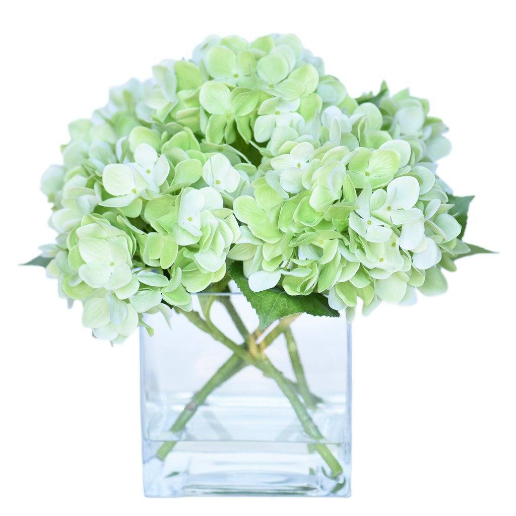 Hydrangea Arrangement Bloomr Artificial Flowers & Artificial Trees