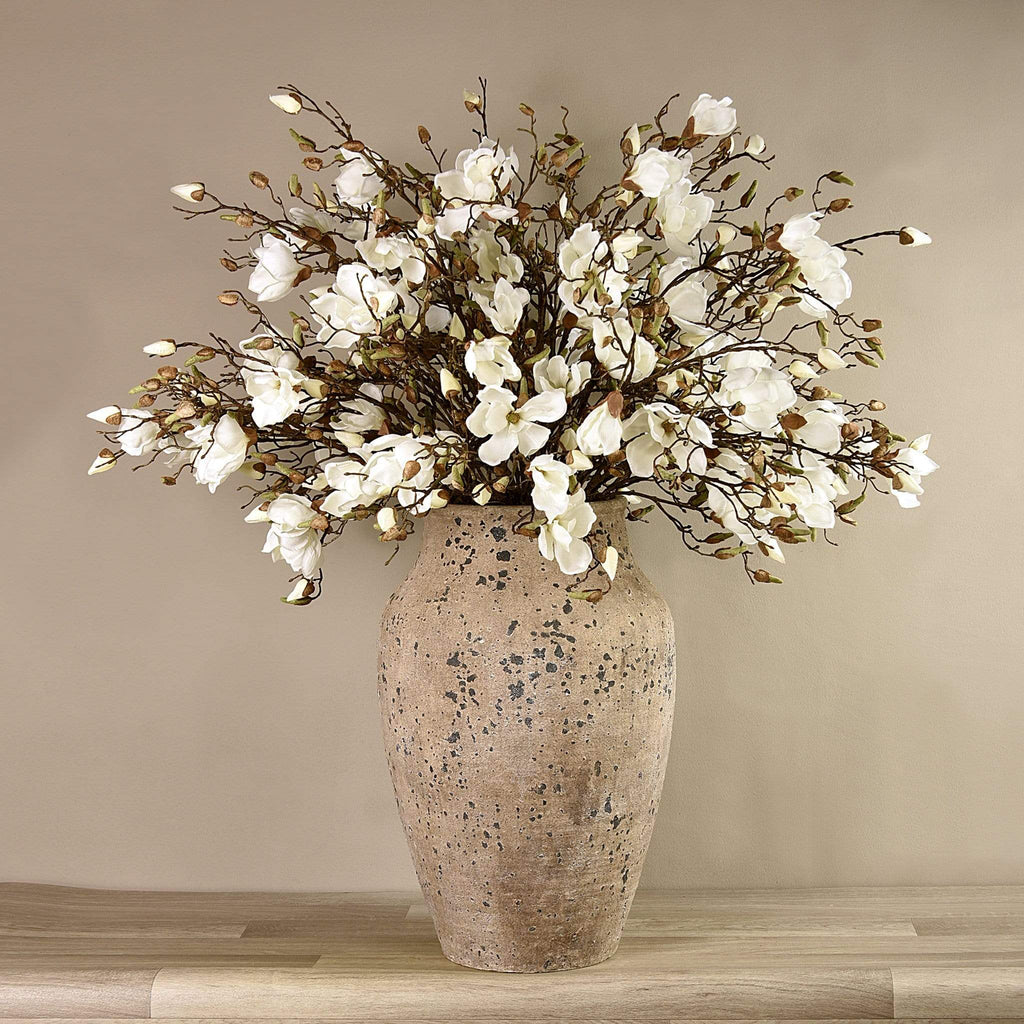 Potted Magnolia Arrangement Bloomr Artificial Flowers & Artificial Trees