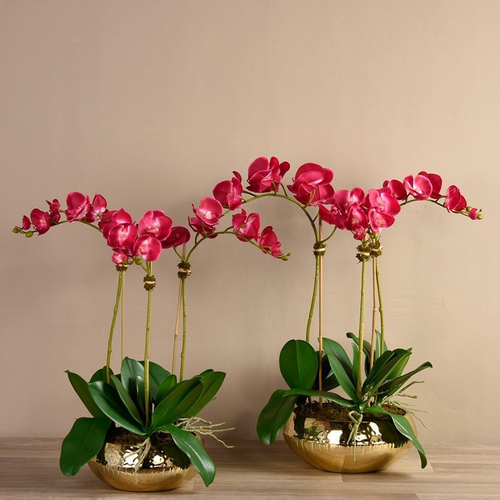 Chic Orchid Arrangement Bloomr Artificial Flowers & Artificial Trees