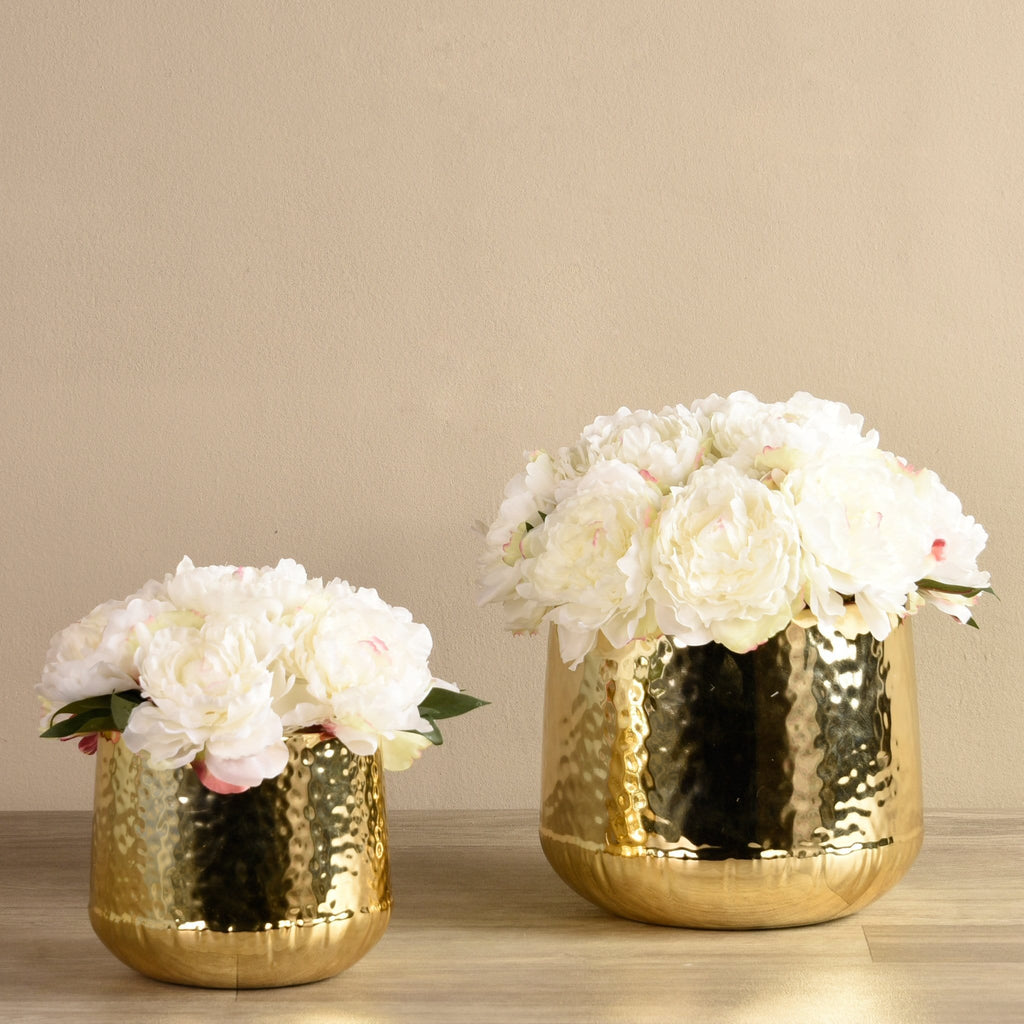 Chic Peony Arrangement Bloomr Home Artificial Flowers and Trees