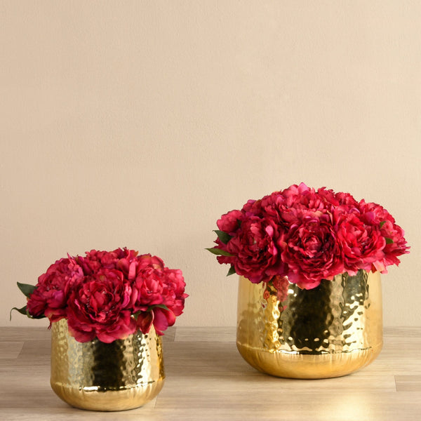 Artificial Peony Arrangement Bloomr Artificial Flowers & Artificial Trees