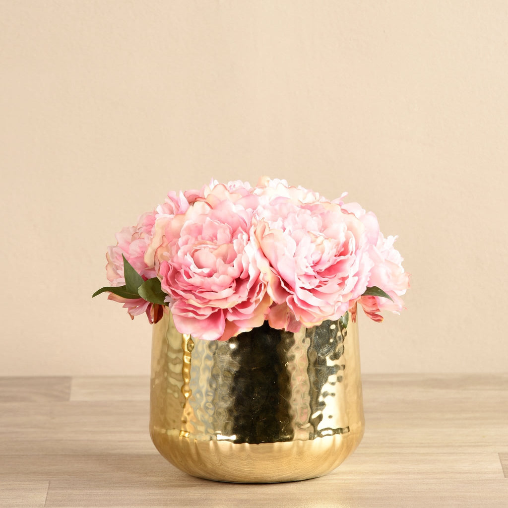 Chic Peony Arrangement Bloomr Artificial Flowers & Artificial Trees