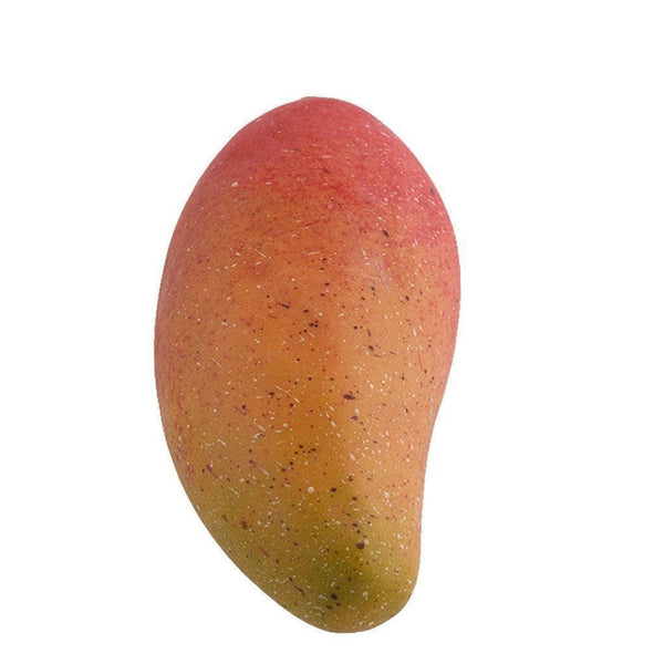 a piece of bicoloured mango