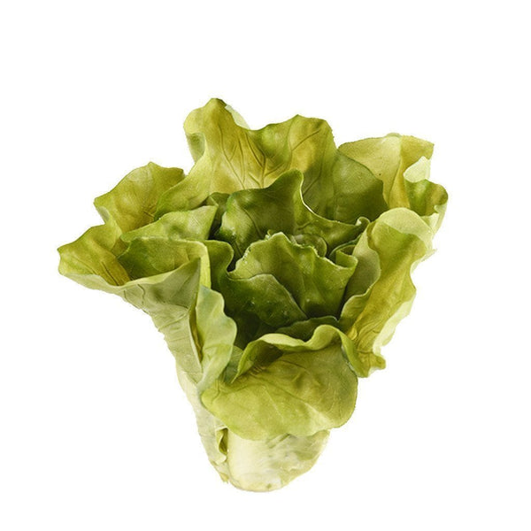 a piece of romaine lettuce used for salad