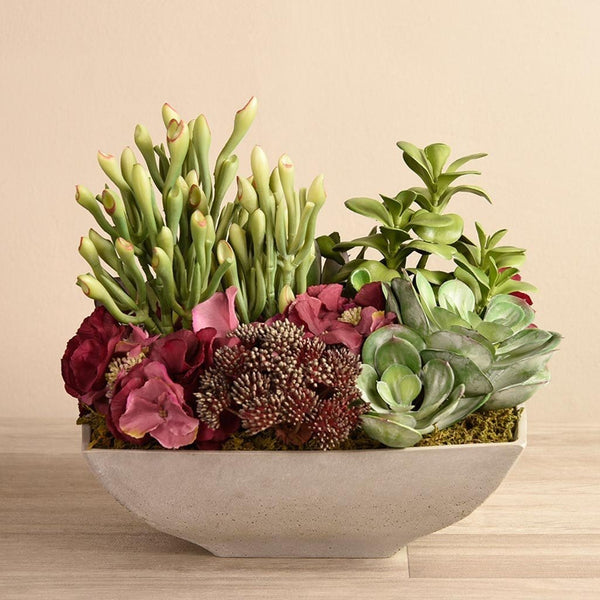 Salvador Succulent Arrangement Bloomr Artificial Flowers & Artificial Trees