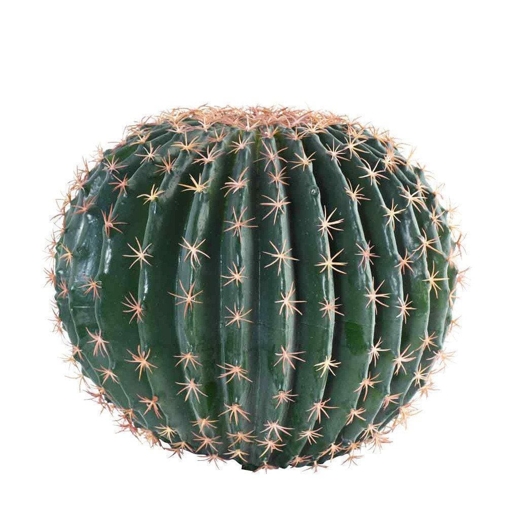Large Barrel Cactus Bloomr Artificial Flowers & Artificial Trees
