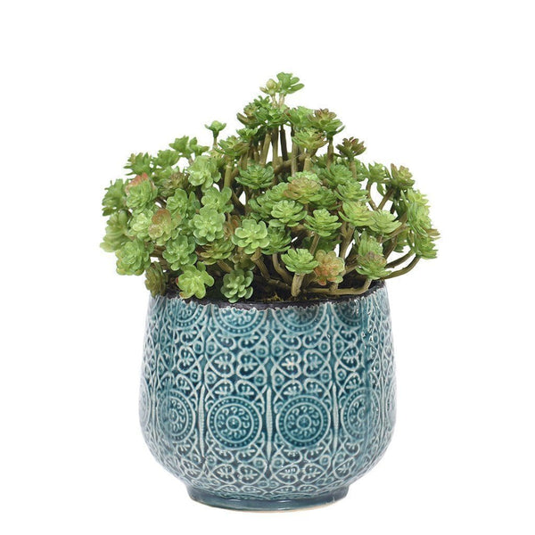 Long Stem Potted Succulent Bloomr Artificial Flowers & Artificial Trees