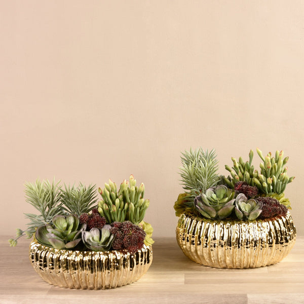 Succulent Arrangement Bloomr Artificial Flowers & Artificial Trees