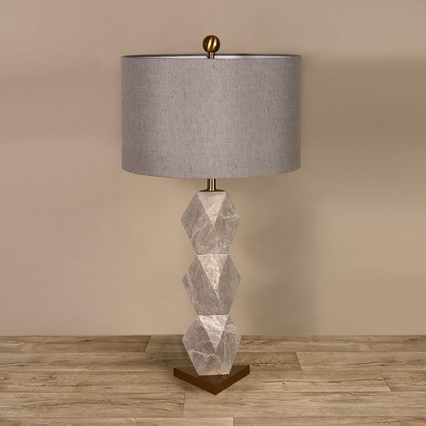 Marble Table Lamp - Bloomr