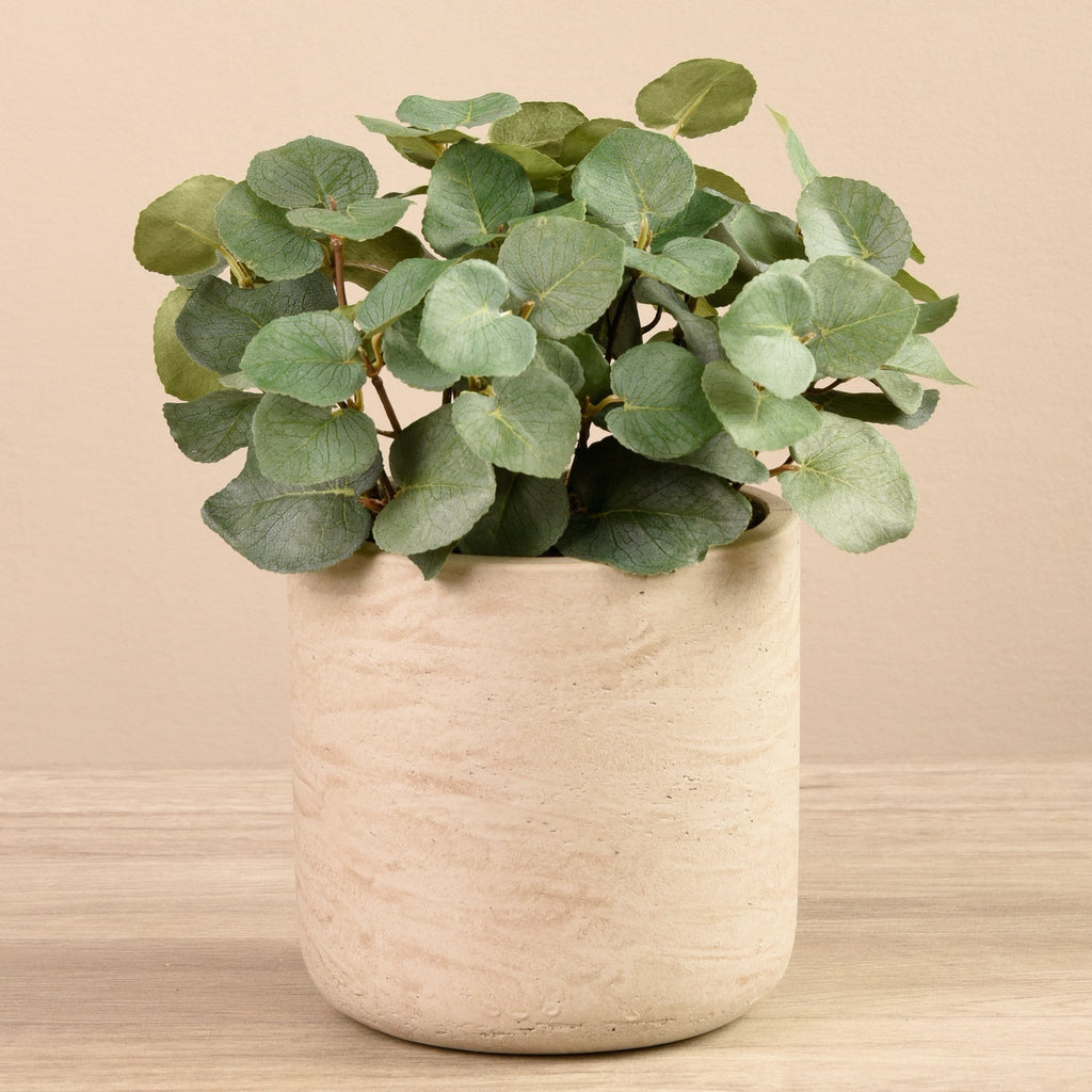 Artificial Potted Eucalyptus Bloomr Artificial Flowers & Artificial Trees